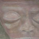 5 mensum - 2011acryl op papier 70x100cm