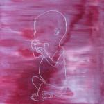 unborn - 2010olieverf op doek 40x40cm