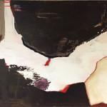 Overgave (2013) - 100x70 cm  Acryl en aquarel krijt op doek