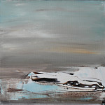 2017 (4) - Acryl op doek 30x30 cm Verkocht