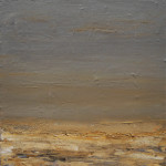 2017 (3) - Acryl, latex en schelpenzand op doek 40x40 cm Verkocht